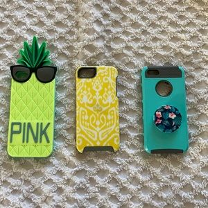 Bundle of 3 iPhone 5 cases